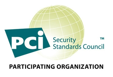 PCI compliance symbol because we are PCI compliant