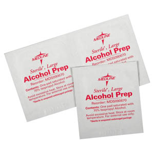 Alcohol Prep Pad Wipes Medcareproducts Com