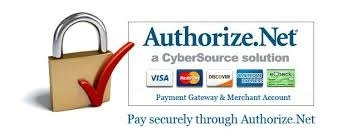 Authorize.net symbol because we use authorize.net to process our credit card orders for good security