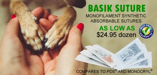 basik suture monofilament absorbable