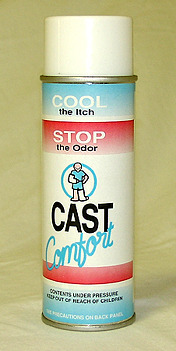 CastComfort� Talc Anti-Itch
