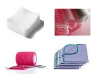 Gauze Squares/Tape/Casting/ Surgical Drapes Wraps