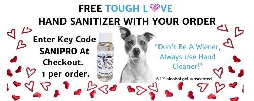 Free Sanitizer Gel With Order